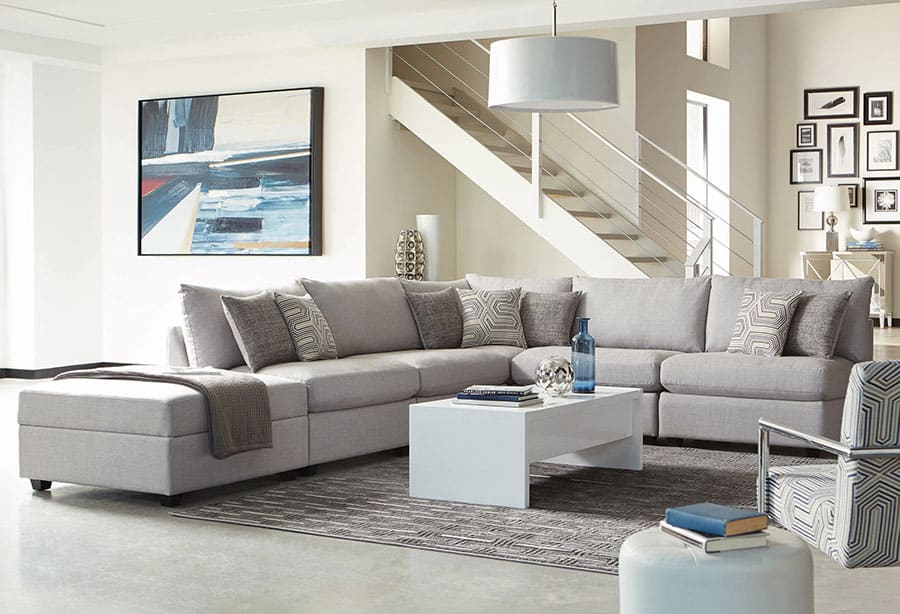 Modular Vs Sectional Sofas What Is, Wrap Around Sectional Sofas