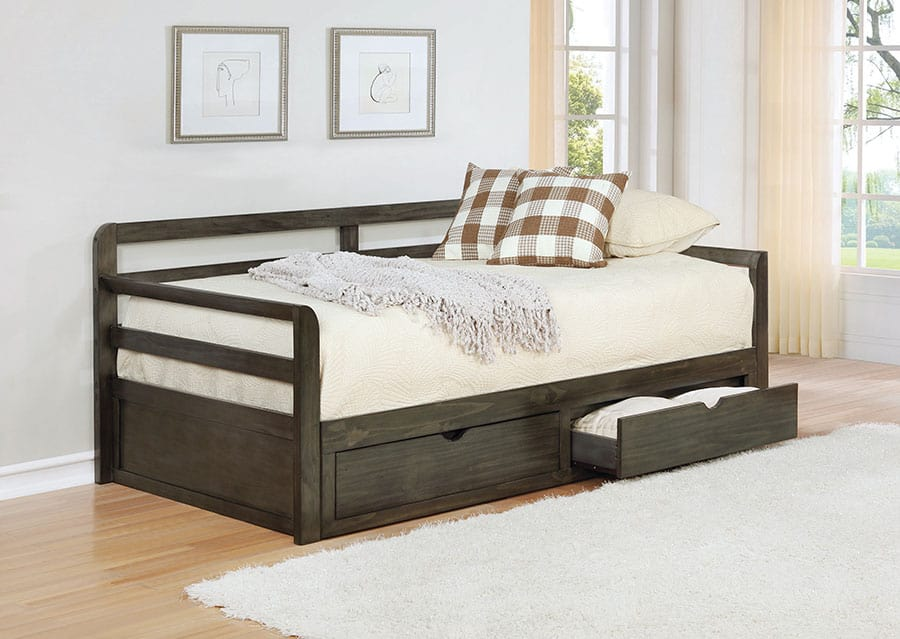 Daybed with Built-In Storage