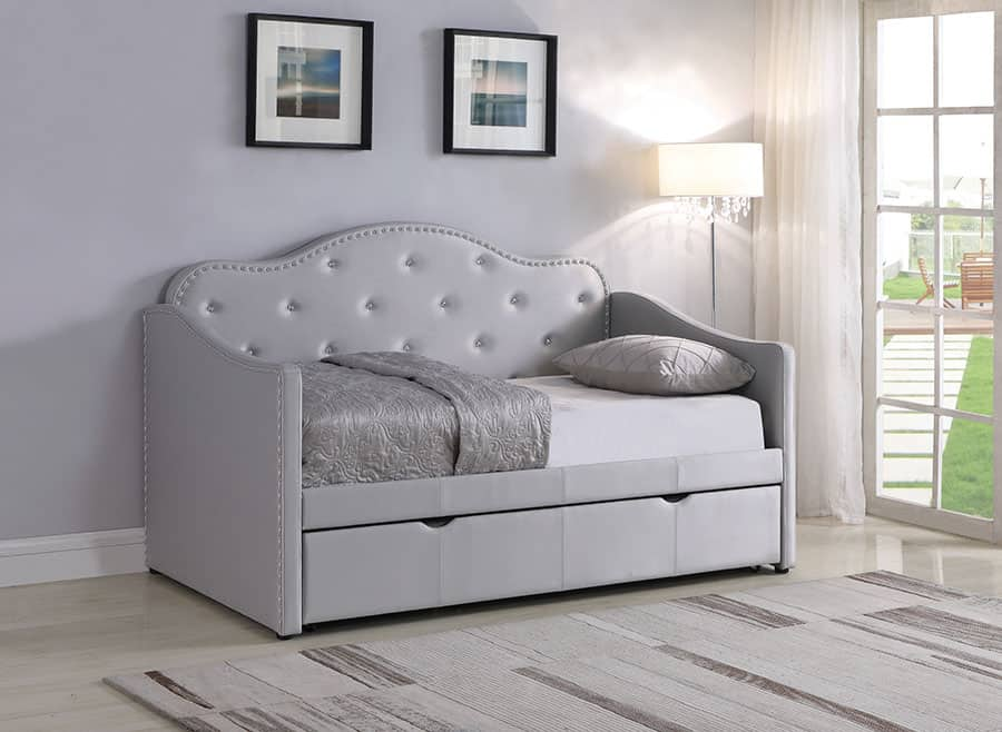The Faux Leather Daybed