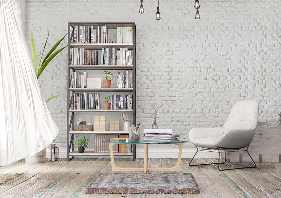Bookcase Wall