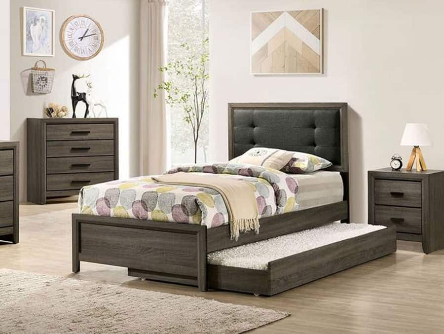 Trundle Bed Is Used