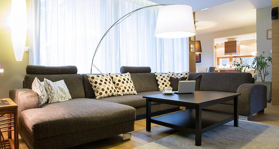 U-shaped Sectional Sofa