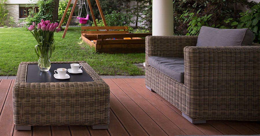 Wicker Furniture and Bugs