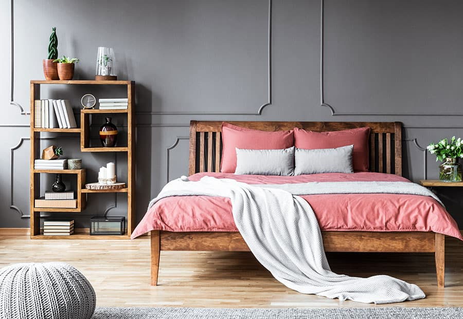 Small Bookcase Bedroom