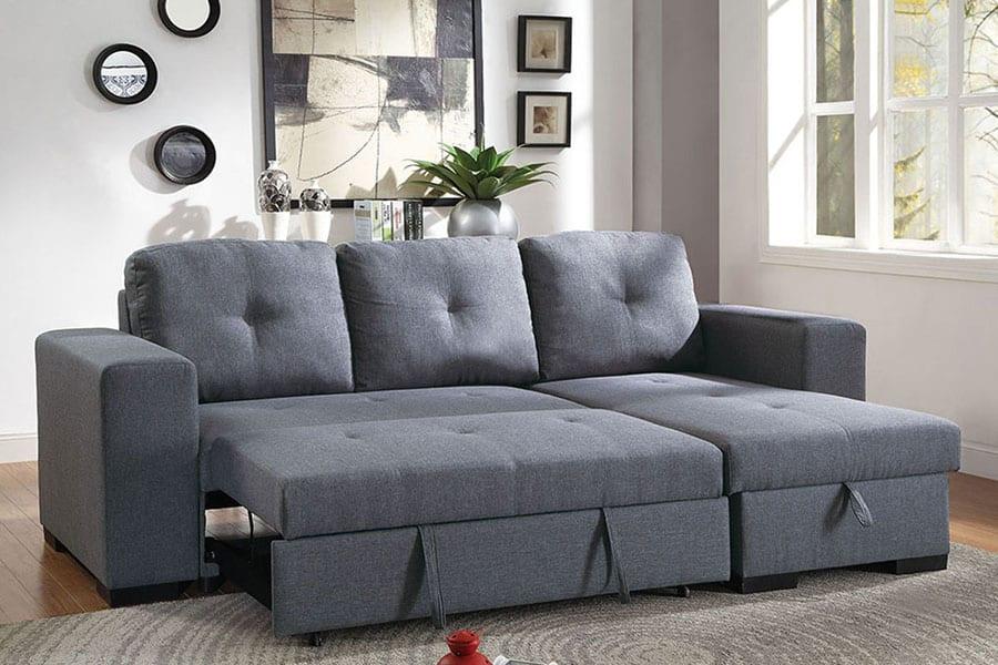 Sofa Sleeper with Storage