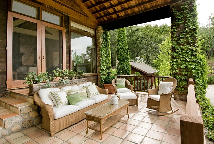 Wicker Furniture Better Indoors Or Outdoors