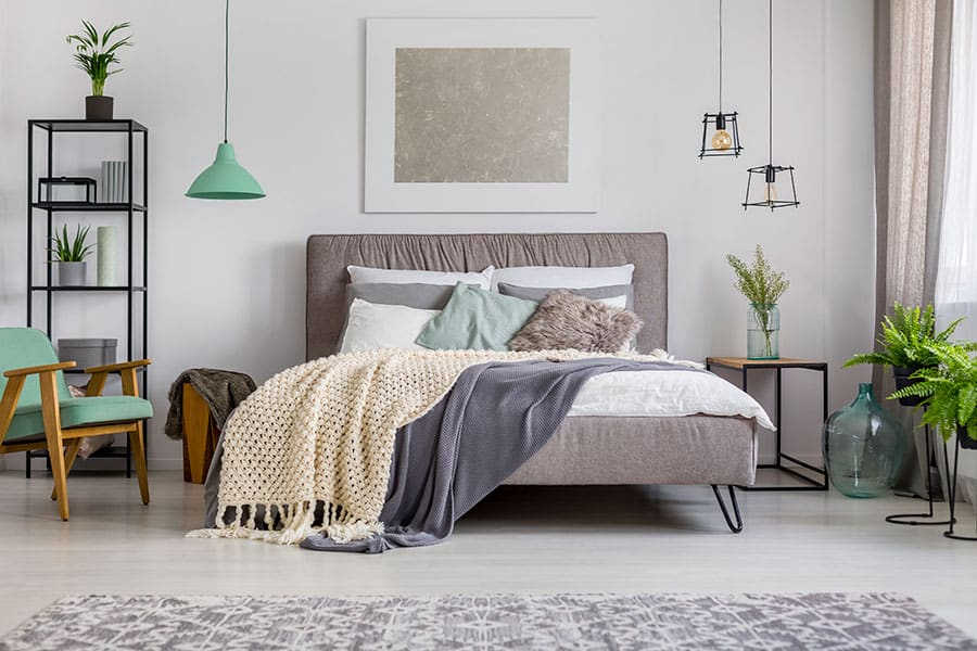 Clean an Upholstered Bed