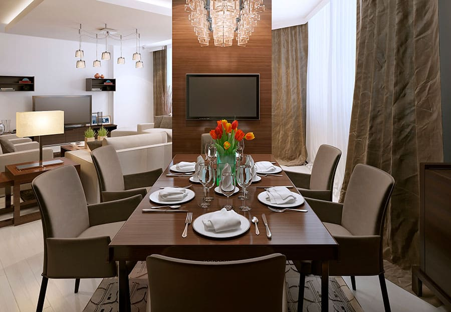 Use Accent Chairs as Dining Chairs