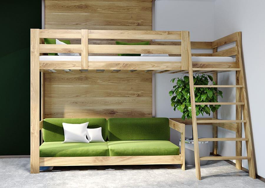 Will A Futon Fit Under A Loft Bed
