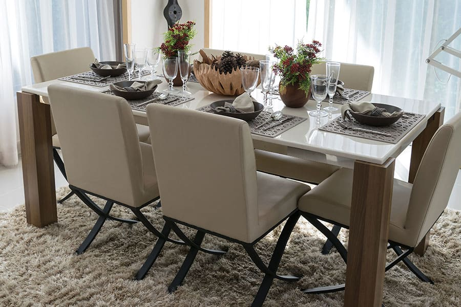 Accent Chairs as Dining Chairs