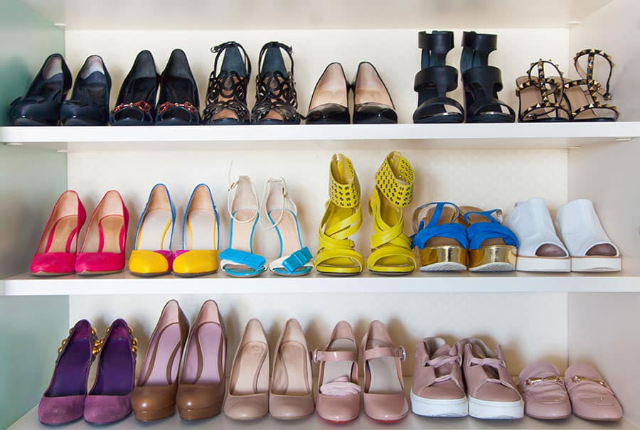 Categorizing Your Shoe Collection Efficiently