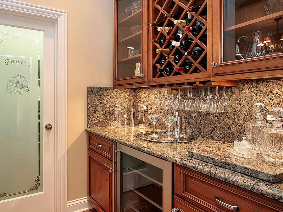 Wine Cabinets With A Refrigerator