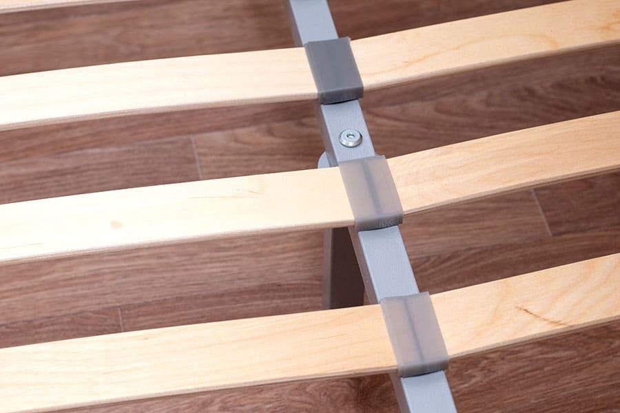 Wood Slats On A Metal Bed Frame